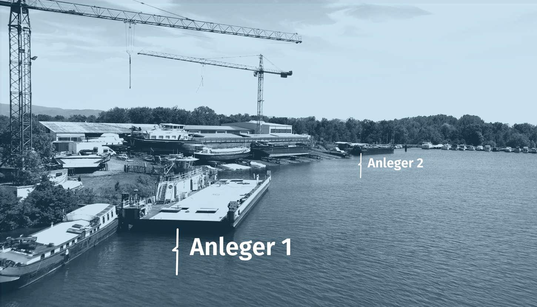 Schiffswerft Karcher 2 Anleger